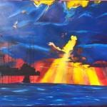 Gulf Shore Gold 30x40 $400
