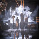 DFW Steampunk Skyline